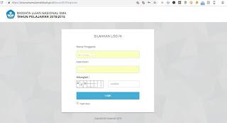https://biounsmama.kemdikbud.go.id/bioun2019/login.bio Alamat Biodata UN SMA/MA 2019