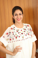 Lavanya Tripathi in Summer Style Spicy Short White Dress at her Interview  Exclusive 200.JPG