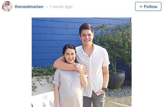 Marian Rivera bare a healthy baby girl