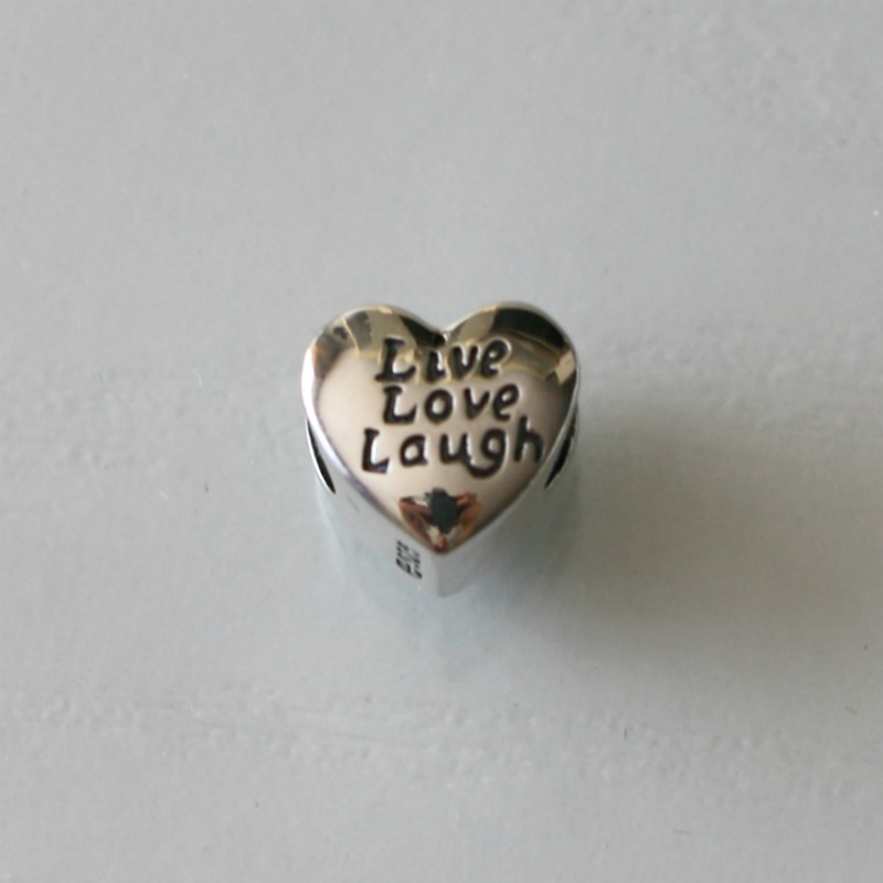 Soufeel Jewelry Live Love Laugh Charm