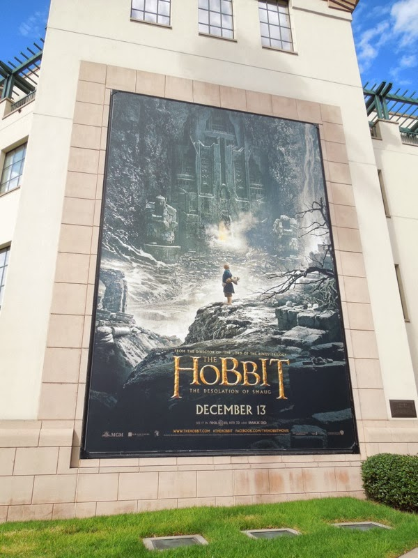 Hobbit Desolation of Smaug billboard