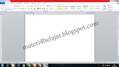 Dalam kehidupan kita sehari hari selalu berkaitan dengan kaya dokumen yang isinya berbed Cara Membuat Mail Merge Pada Ms.Word 2010