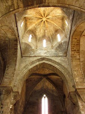 Cimborrio de la iglesia del monasterio de Vallbona de les Monges
