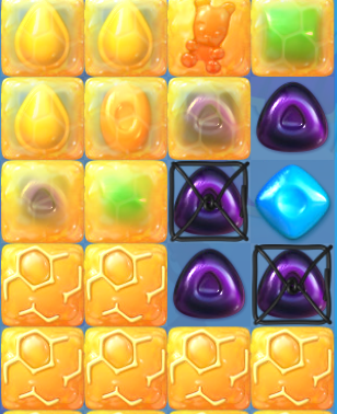 how to get through l 240 in candy crush