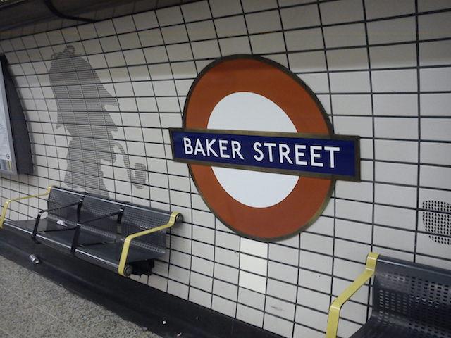 Estação Baker Street em Londres