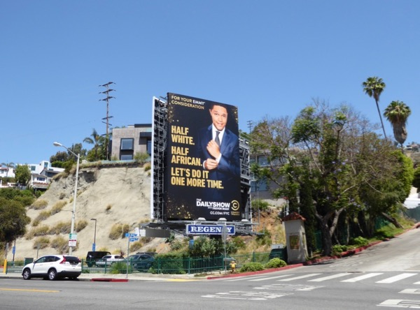 Daily Show Trevor Noah 2017 Emmy billboard