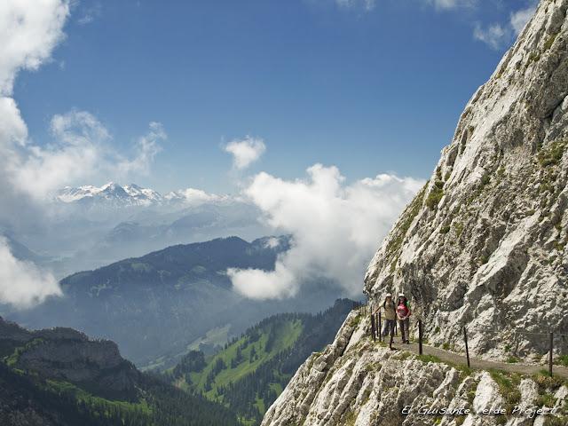 Caminos del  Monte Pilatus, Lucerna, por El Guisante Verde Project