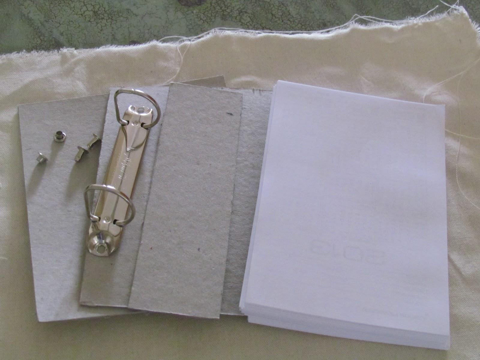 Cola e Papel  PAP Encadernação com garras para fichário a50ac44e03