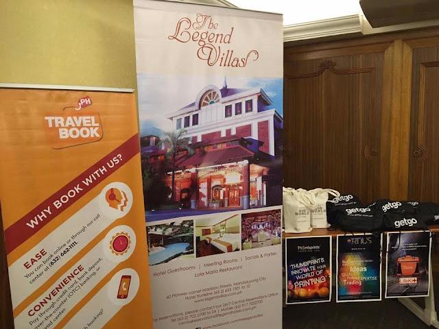 TravelBookPH hosted first Blogger Affiliate Get Together at The Legend Villas