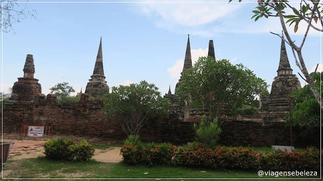 Parque Histórico de Ayutthaya | Tailândia