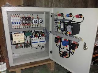 melayani pembuatan panel ats-amf 20 kva