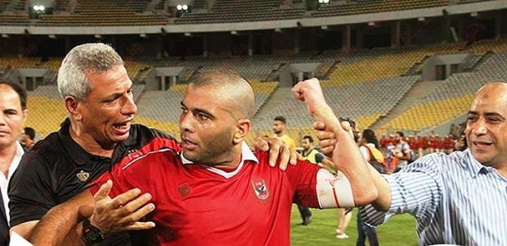 عماد متعب يتحدى حسام البدرى على ملعب مختار التتش