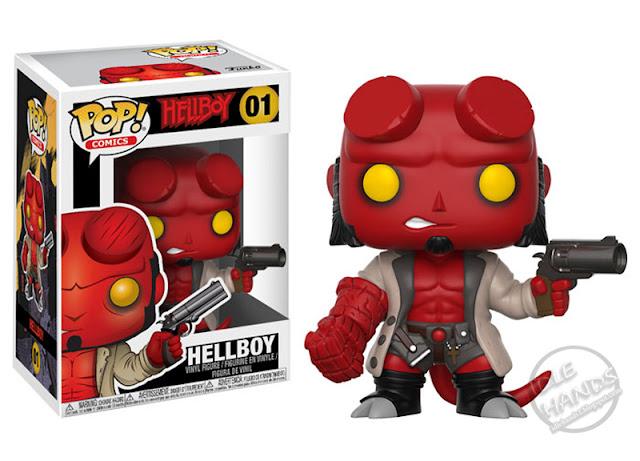 Funko Hellboy Comic Pop Vinyl Figures