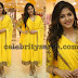 Anjali in Yellow Georgette Churidar