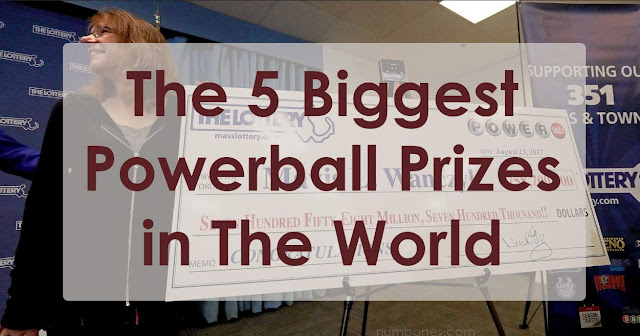 The 5 Biggest Powerball Prizes in The World