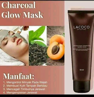 MANFAAT CHARCOAL GLOW MARK