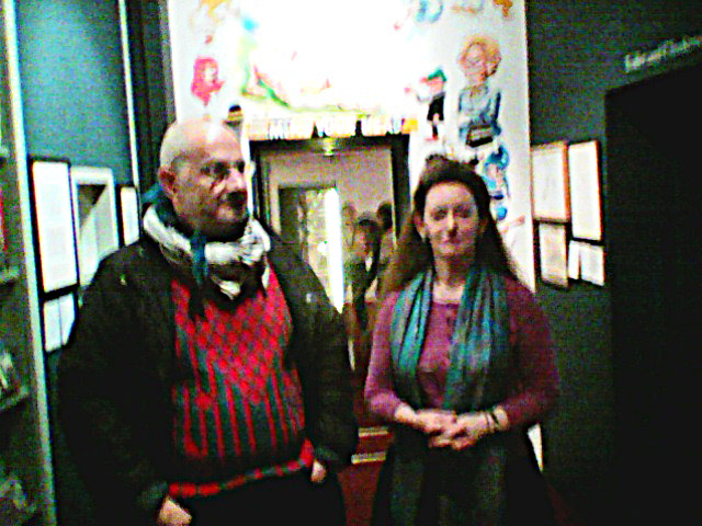 british cartoon museum  december 2016