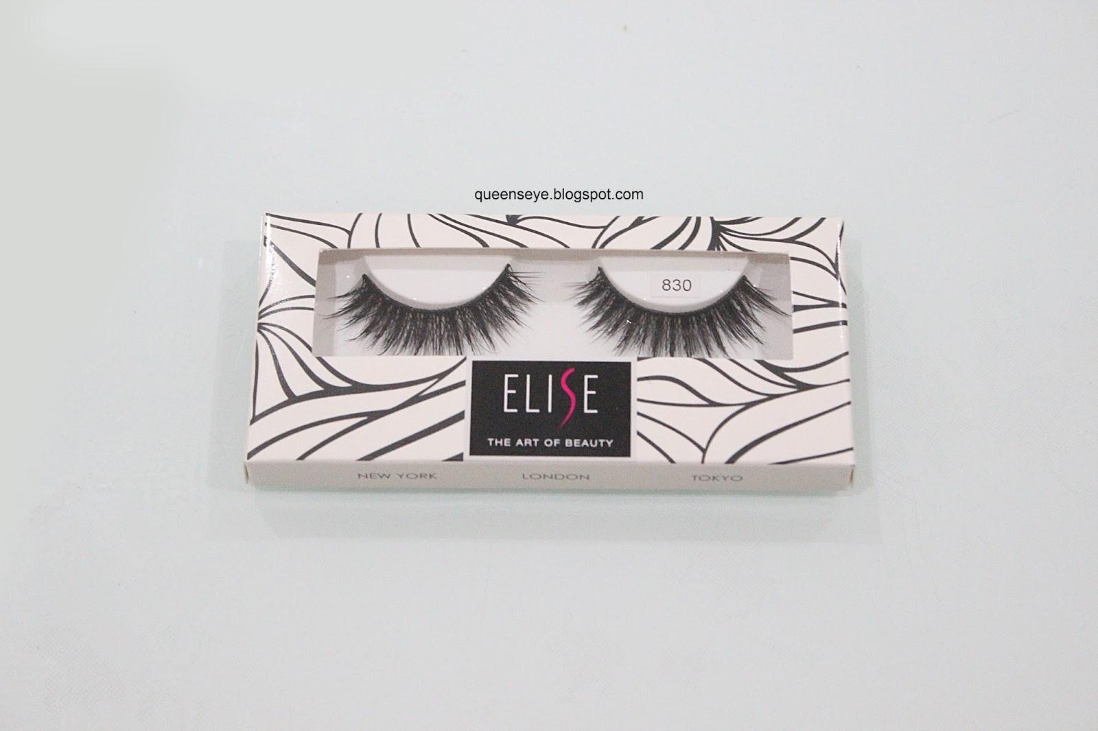 15f093c7fbd Setau aku, bulu mata Elise hadir dengan packaging warna hitam. Tapi yang  kali ini putih. As I know, Elise lashes come with black packaging.