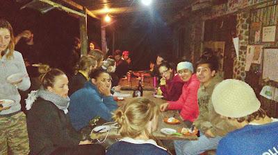 Cenas especiales en el proyecto por las noches.