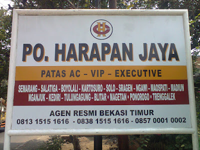 Agen Bus Harapan Jaya Bulak Kapal Bekasi Timur