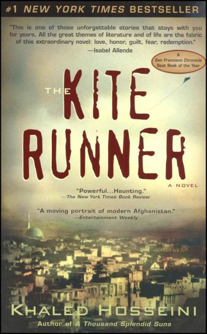 Kite Runner, Khaled Housseini, fiction, books, afghanistan