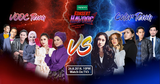 Konsert HaVOOC - Win Yourself a OPPO F9 Contest