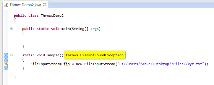 how to handle exception in catch block in c