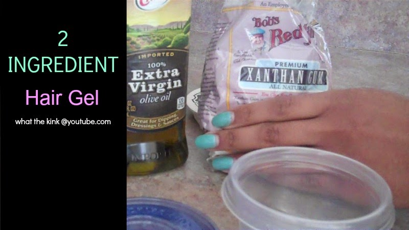 2 Ingredient Hair Gel