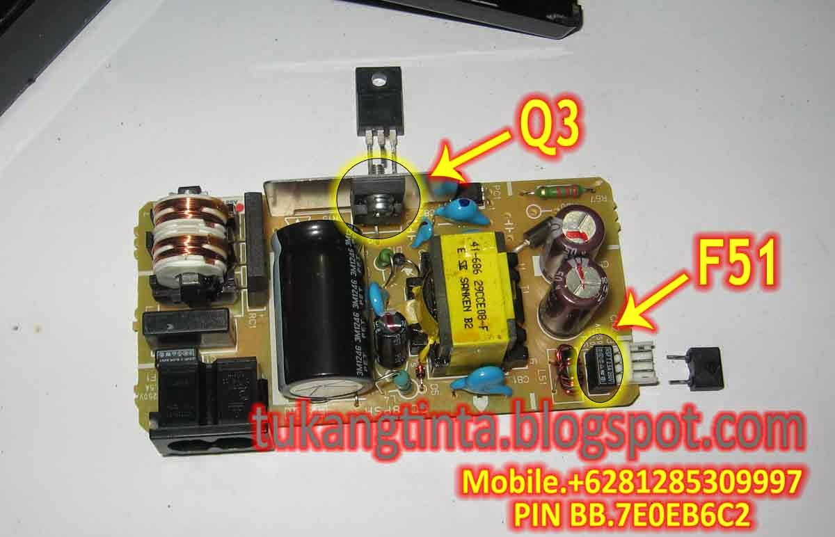 Pusat Modifikasi Printer Infus Cara Service Adaptor Printer Epson