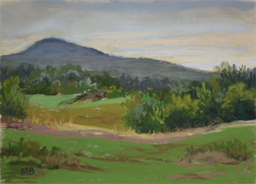 Hartsong, 5x7 inches, En Plein Air, Private Collection