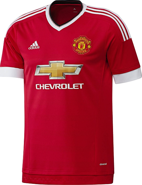 the latest 5e621 8ab48 Adidas Manchester United 2015/16 Football Jerseys