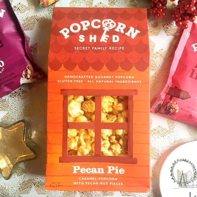 Popcorn Shed Pecan Pie carton