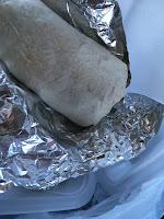El Pariente Food Truck burrito