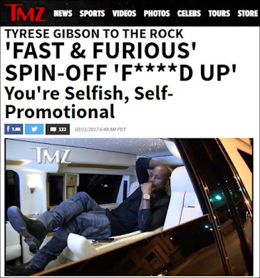 Tyrese Gibson Calls The Rock Selfish On TMZ