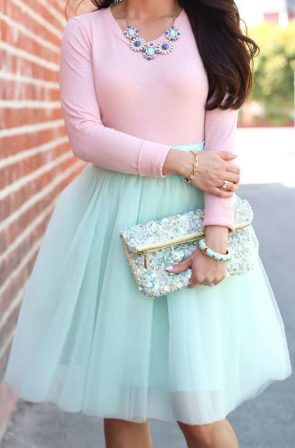 tiffany tulle skirt