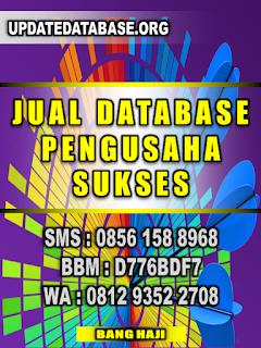 Database Nomor Handphone Pengusaha Sukses