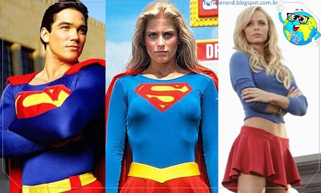 Dean Cain, Lois & Clark, Helen Slater, Laura Vandervoort, Tom Welling, Greg Berlanti Andrew Kreisberg, Linda Carter, Supergirl, Superman, Terra de Nerd