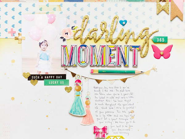 Maggie Holmes Design Team : Darling Moment