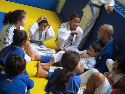 Projeto Judô Solidário da Hebraica Rio