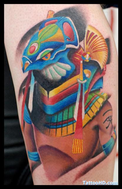 Simbolico Egipcio, O Projeto Da Tatuagem