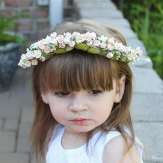 Charming Wedding Hairstyles for Flower Girls