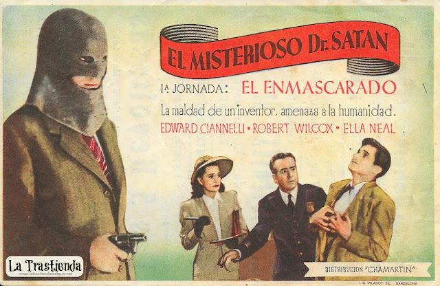 El Misterioso Dr.Satán - Programa de Cine - Edward Ciannelli - Robert Wilcox