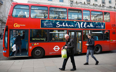 Praise Allah Slogans On London Buses