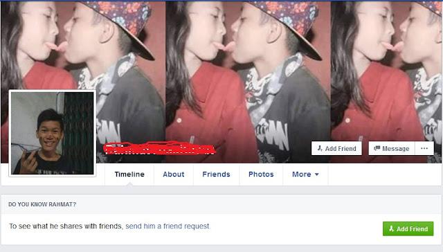 Kebangetan! Bocah SMP Ini Sudah Berani Ciuman dan Mengunggah Fotonya di Facebook