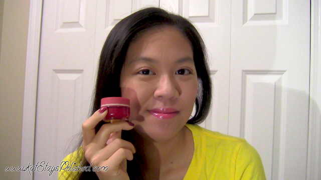Wantable September 2013 Beauty Box - Look 2