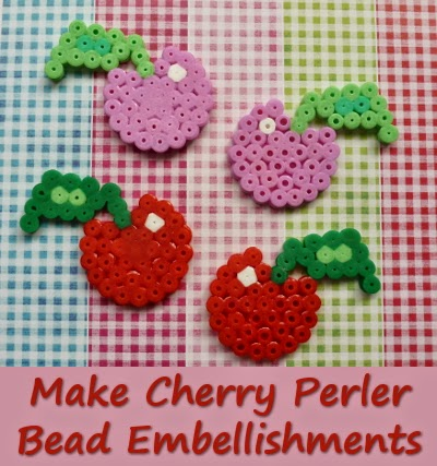 Cute Cherry Perler Bead Pattern Tutorial