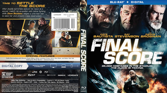 Final Score Bluray Cover