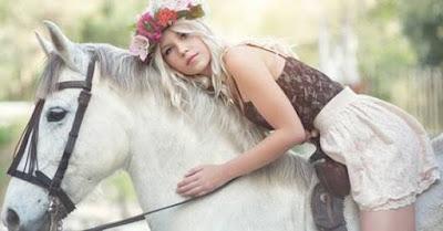 Milanja Broskvit dan Kuda Putihnya - Sekitar Dunia Unik