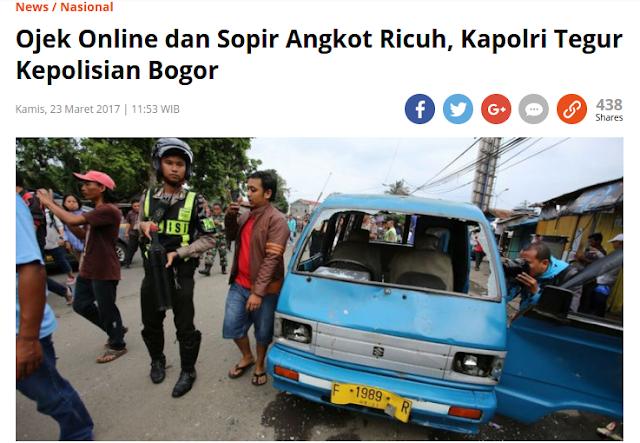 Kata-kata Yogi 'tentang Tranportasi Konvensional dan Online' Benar-benar Menampar Pemerintah