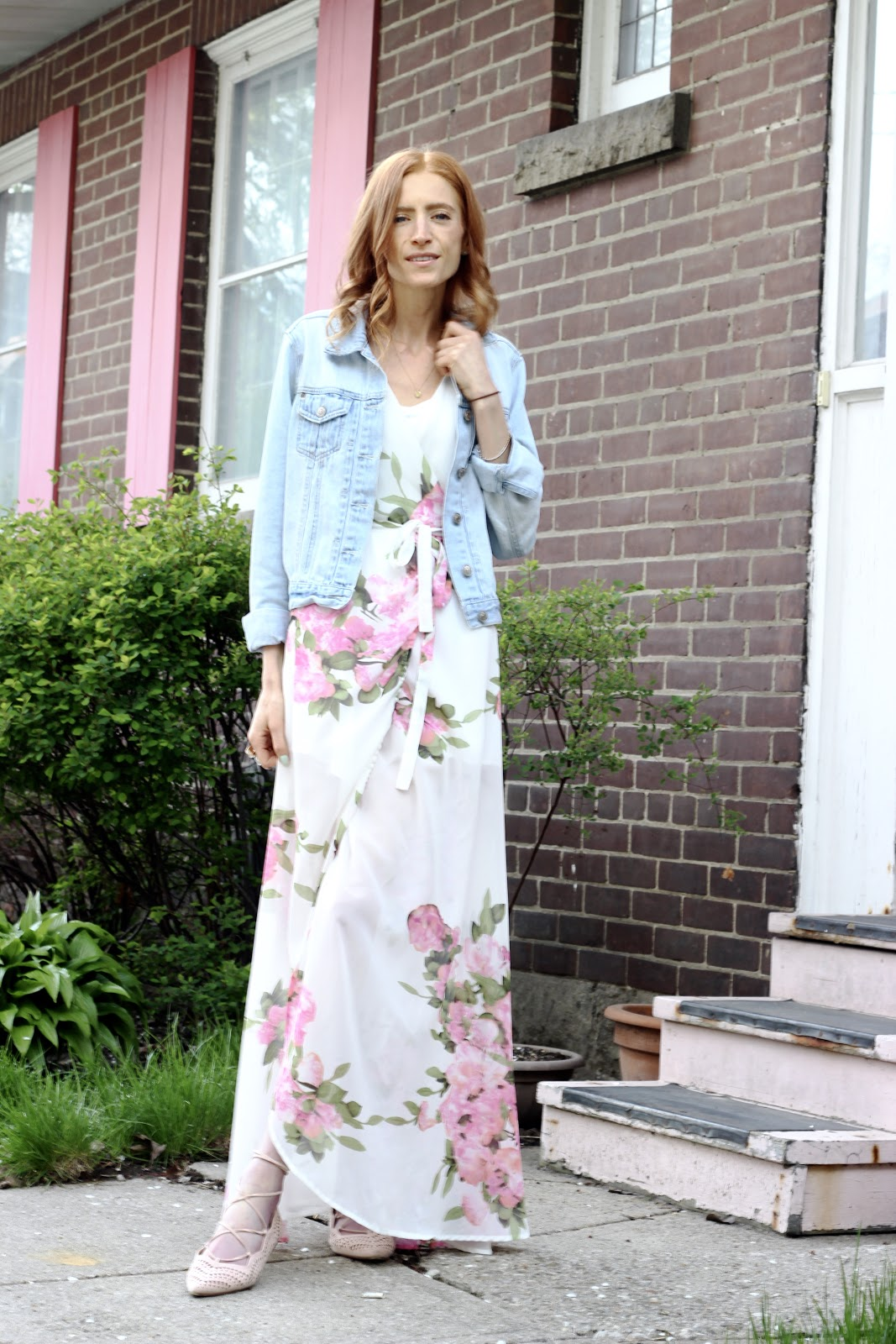 Floral maxi Dress, Spring Style, Pixi Beauty